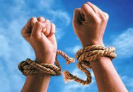 shackles broken