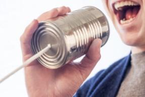 speak in a can