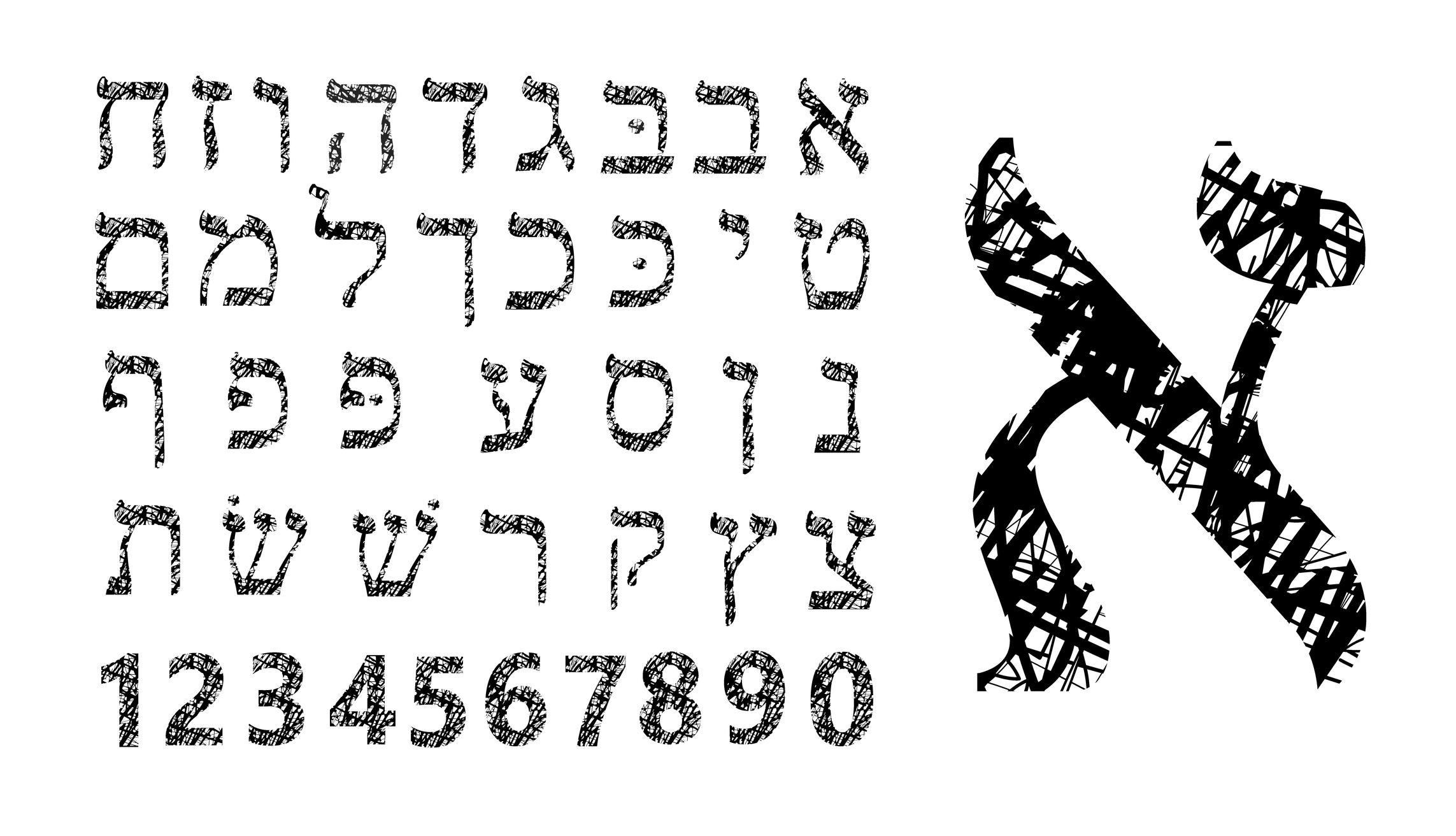 Hebrew Numbers 1 10 Grace In Torah